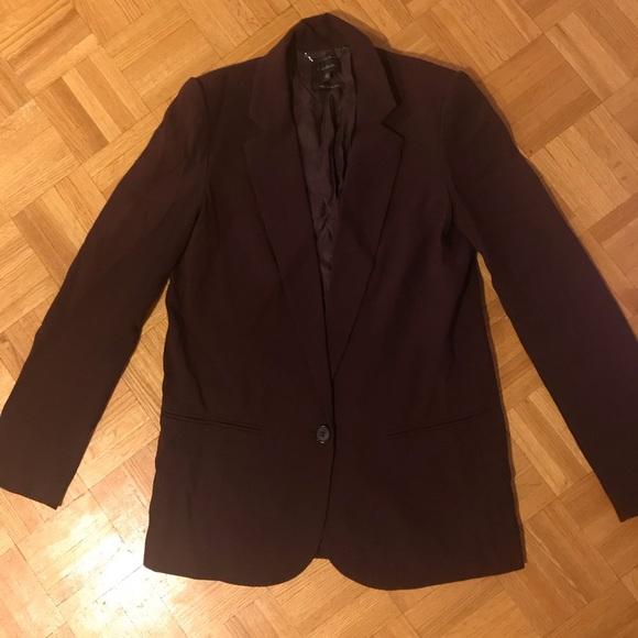 Aritzia Jackets & Blazers - Aritzia t babaton maroon blazer size 0